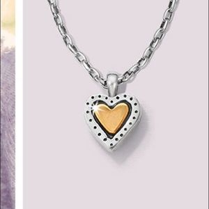 Brighton Two Tone Heart Necklace